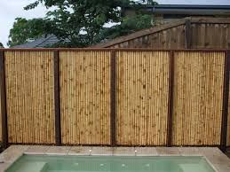 Bamboo fence ideas for small houses 15