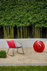 Bamboo fence ideas for small houses 29
