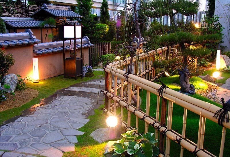 Bamboo fence ideas for small houses 53