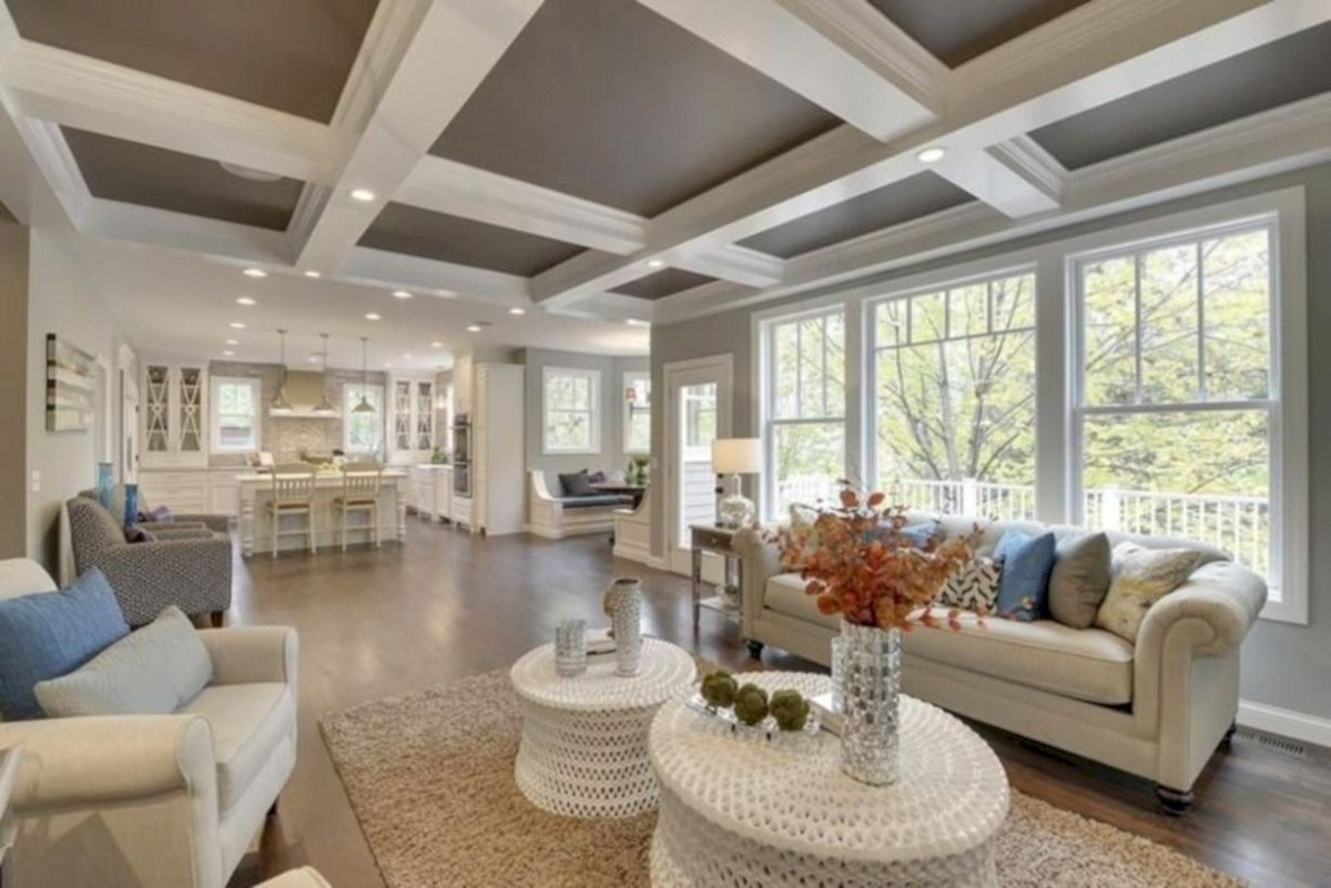 Beautiful modern style to upgrade your living room 13