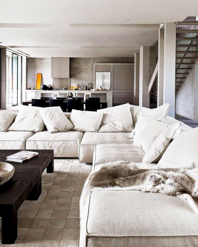Beautiful modern style to upgrade your living room 50
