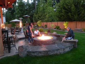 Best fire pit ideas for your backyard 26