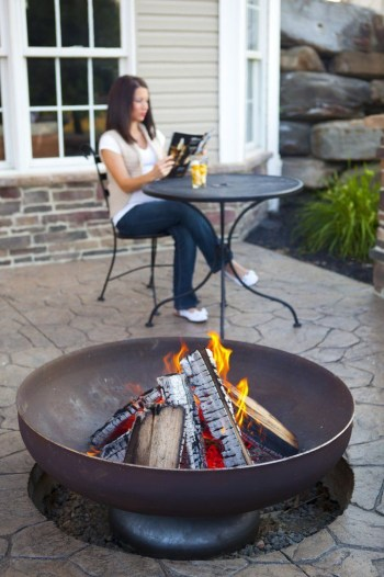 Best fire pit ideas for your backyard 45