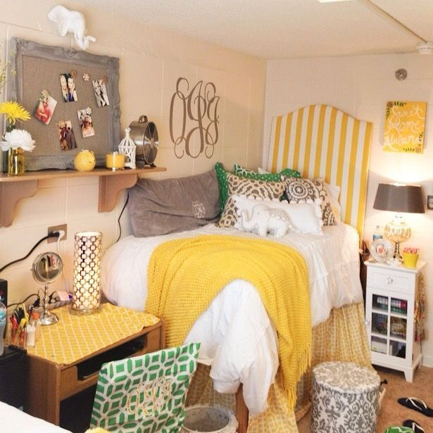 Creative dorm decoration ideas for your bedroom 21