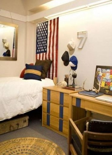 Creative dorm decoration ideas for your bedroom 43