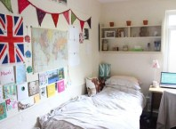 Creative dorm decoration ideas for your bedroom 48