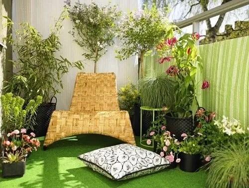 Creative small balcony design ideas for spring 22