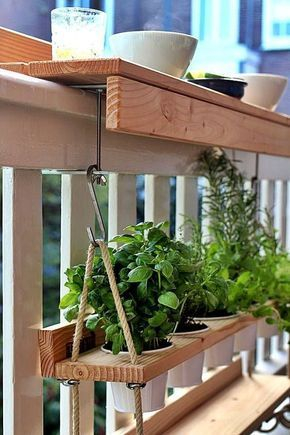 Creative small balcony design ideas for spring 55