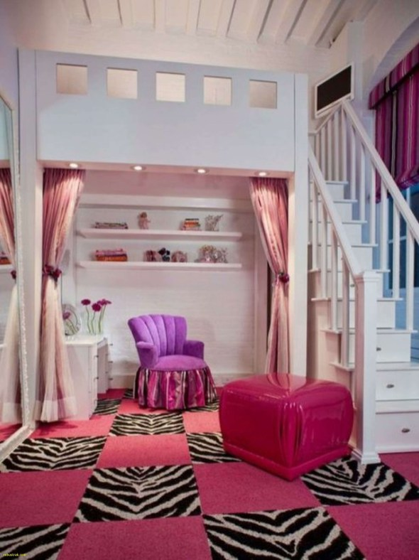 Cute girls bedroom ideas for small rooms 03