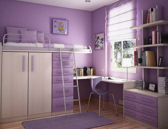 Cute girls bedroom ideas for small rooms 12