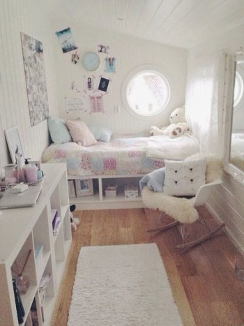 Cute girls bedroom ideas for small rooms 29