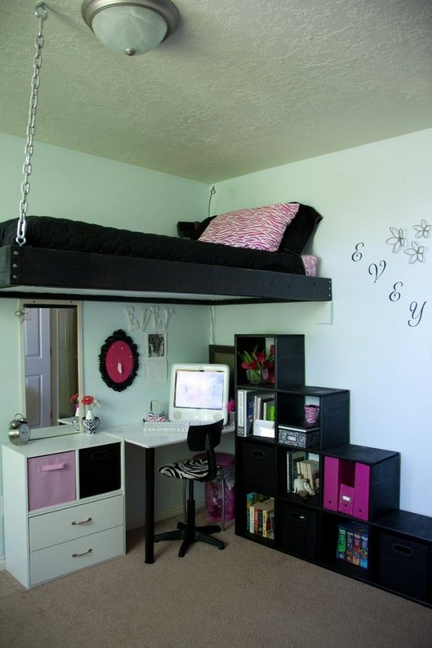 Cute girls bedroom ideas for small rooms 46