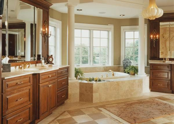Luxury traditional bathroom design ideas for your classy room 06