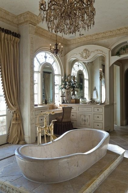 Luxury traditional bathroom design ideas for your classy room 25
