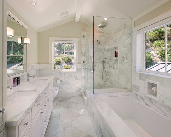 Luxury traditional bathroom design ideas for your classy room 30