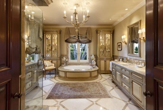 Luxury traditional bathroom design ideas for your classy room 50