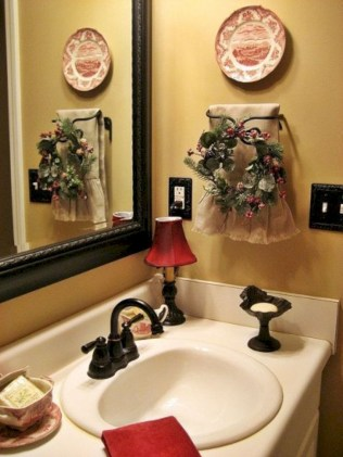Rustic farmhouse bathroom ideas with shower 105