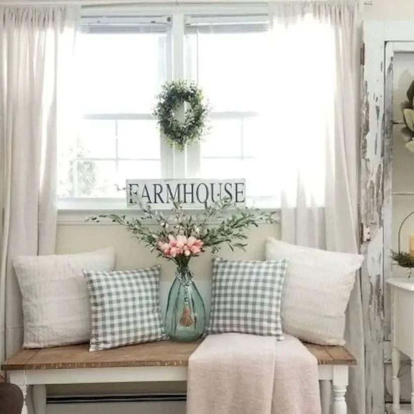 Rustic modern farmhouse living room decor ideas 111