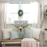 Rustic modern farmhouse living room decor ideas 111