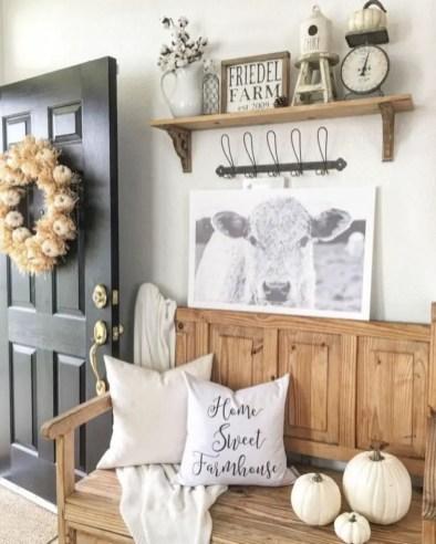 Rustic modern farmhouse living room decor ideas 124