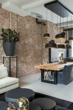 Rustic modern farmhouse living room decor ideas 75