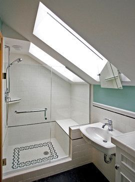 Unique attic bathroom design ideas for your private haven 38