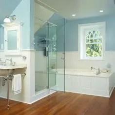 Unique attic bathroom design ideas for your private haven 45