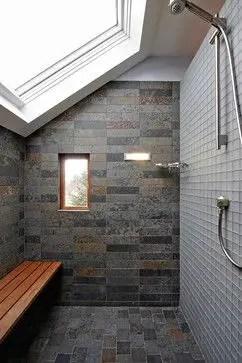 Unique attic bathroom design ideas for your private haven 53