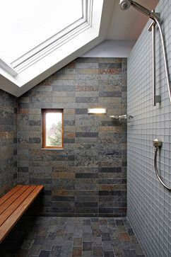 Unique attic bathroom design ideas for your private haven 53