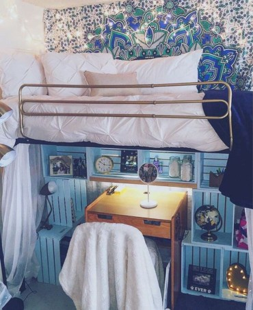 Unique dorm room ideas that you need to copy 07