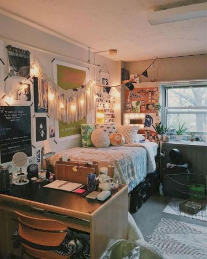 Unique dorm room ideas that you need to copy 44
