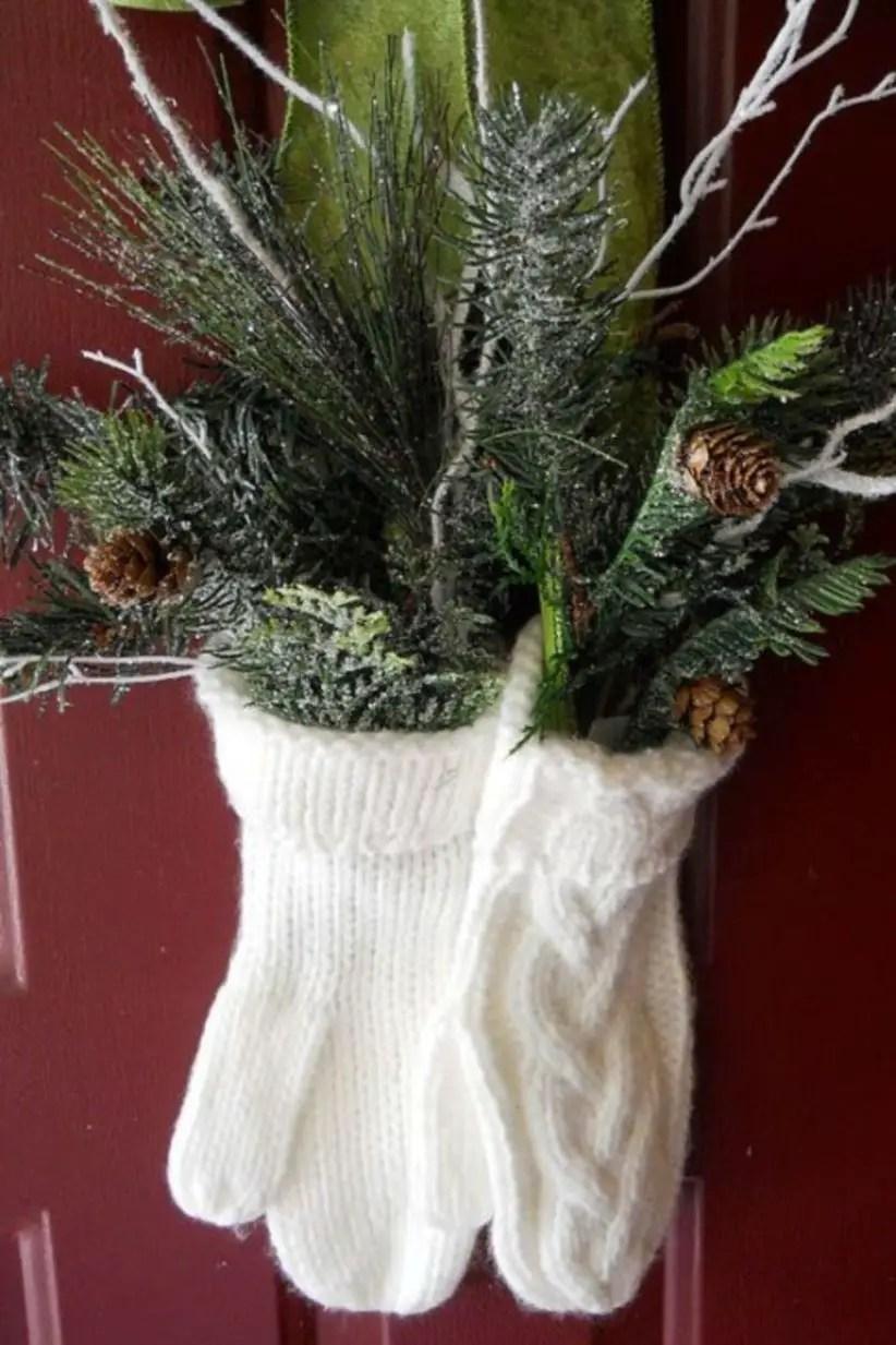 Beautiful decor ideas to hang on your door that aren't wreaths 06