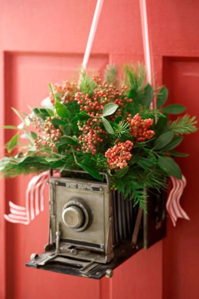 Beautiful decor ideas to hang on your door that aren't wreaths 33