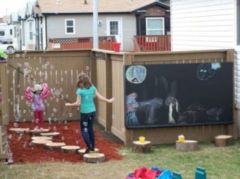 Best creativity backyard projects to surprise your kids 32