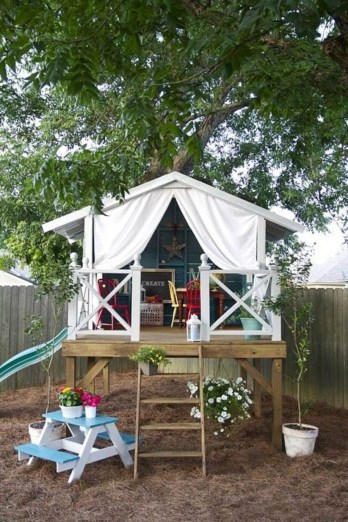 Best creativity backyard projects to surprise your kids 43