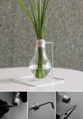 Bright ideas to recycle old light blubs 13