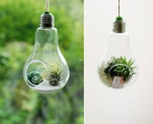Bright ideas to recycle old light blubs 17