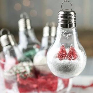 Bright ideas to recycle old light blubs 36