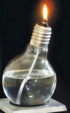 Bright ideas to recycle old light blubs 50