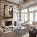 Adorable and cozy neutral living room design ideas 19