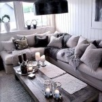 Adorable and cozy neutral living room design ideas 47