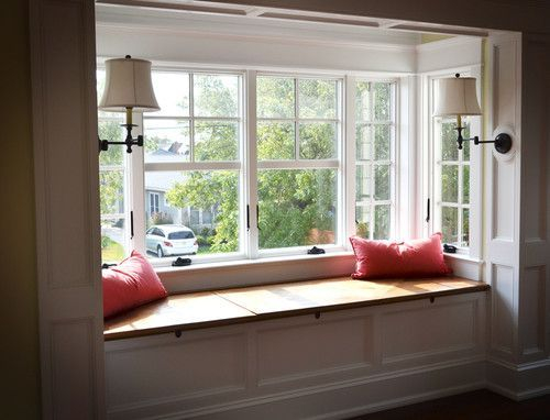 Bay window ideas that blend well with modern interior design 05