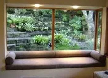 Bay window ideas that blend well with modern interior design 34