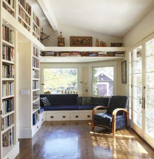 Bay window ideas that blend well with modern interior design 44
