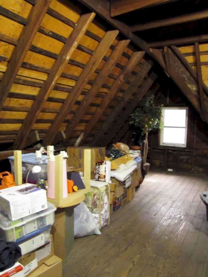 Best attic makeover ideas to inspire you 07