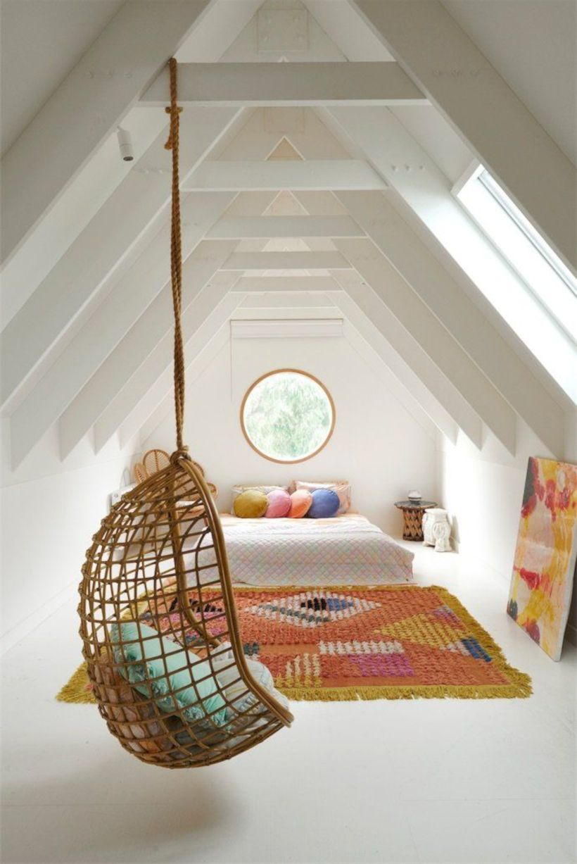 Best attic makeover ideas to inspire you 08