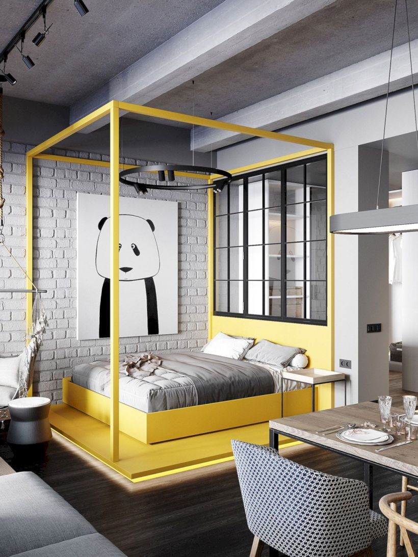 Brilliant small apartment ideas for space saving 33