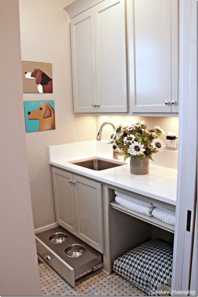 Laundry room storage shelves ideas to consider 33