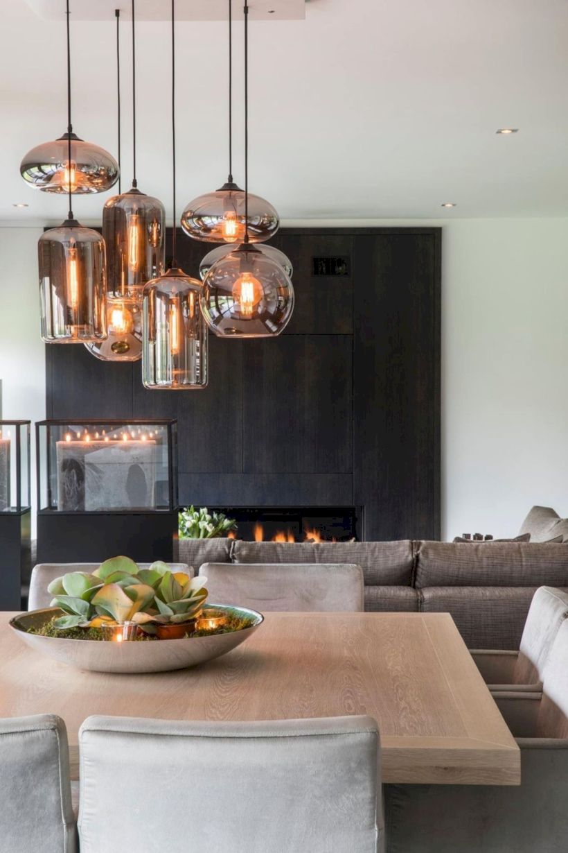 Modern dining room design ideas you were looking for 23
