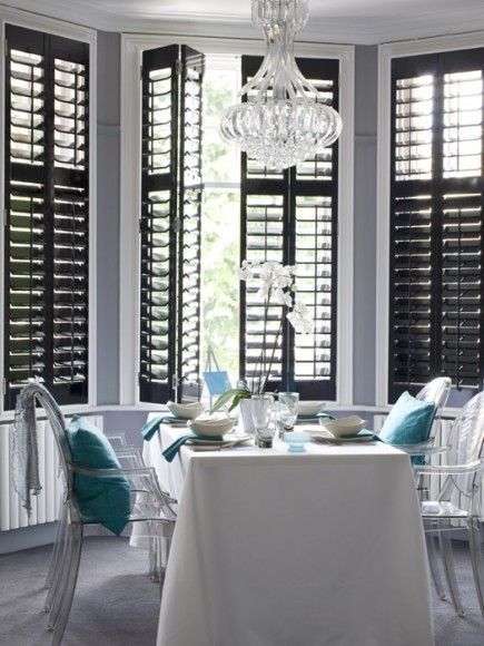Simple and elegant plantation shutters that perfect for every style 07